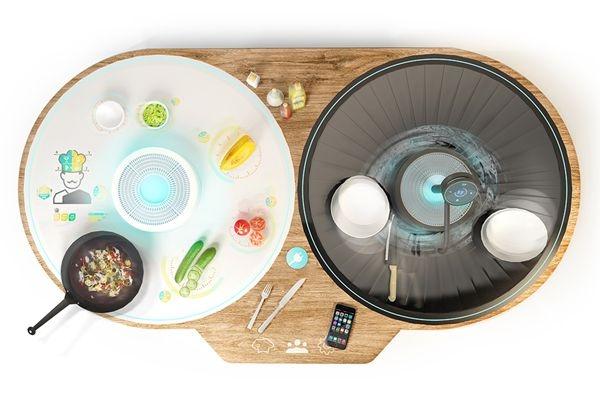 未来的一体化智能厨房系统:OTTO