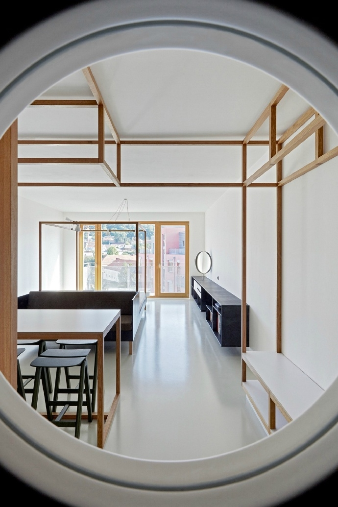 日式装修风格唯美简单的小公寓
