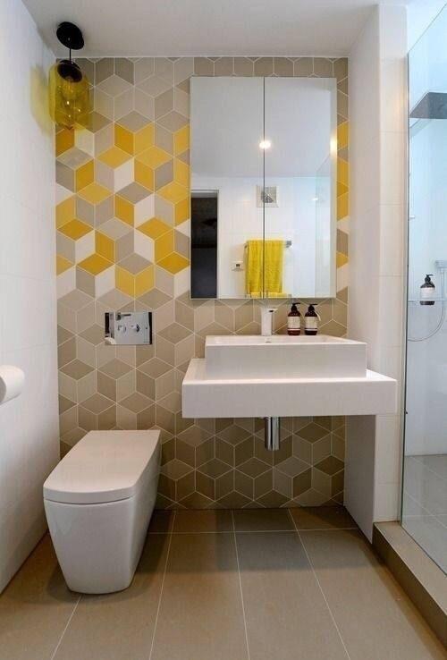 9个简约的小卫生间设计效果图