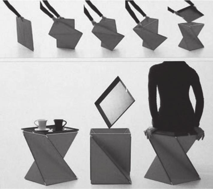 基于用户需求的瓦楞纸板家具设计研究