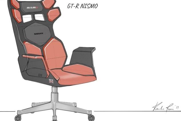 汽车厂商造起了电竞椅:日产发布全新概念款电竞椅