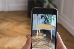 Tylko:用软体自定义家具的风格和尺寸,并可实时看在家中的效果