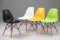 塑膠,鐵與木質結合的椅子